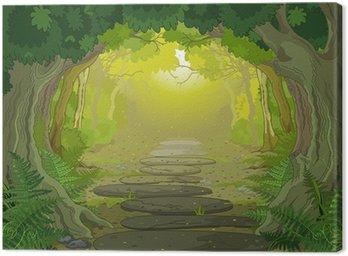 Obraz na Płótnie Magiczny krajobraz wejście
