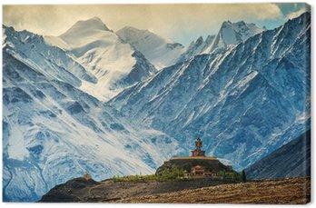 Obraz na Płótnie Maitreya w disket klasztoru, Ladakh, Indie