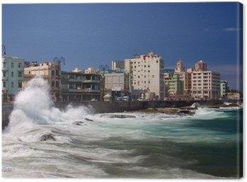 Obraz na Płótnie Malecon, Havanna