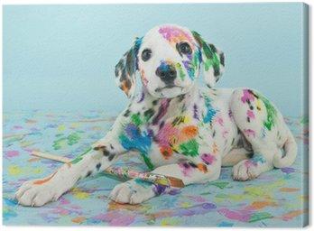 Obraz na Płótnie Malowane Puppy