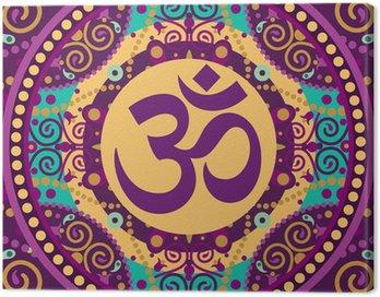 Obraz na Płótnie Mandala ohm