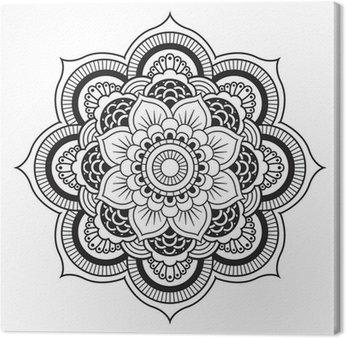 Obraz na Płótnie Mandala. okrągły ornament
