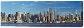 Obraz na Płótnie Manhattan skyline panorama, New York City
