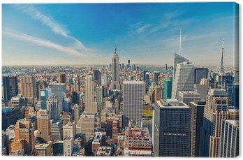 Obraz na Płótnie Manhattan z lotu ptaka