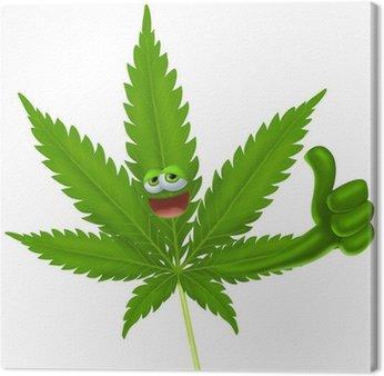 Obraz na Płótnie Marihuana