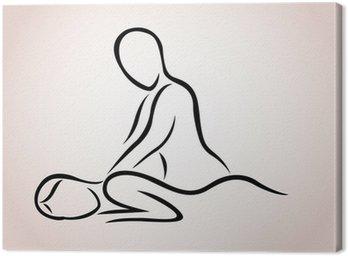 Obraz na Płótnie Masaż