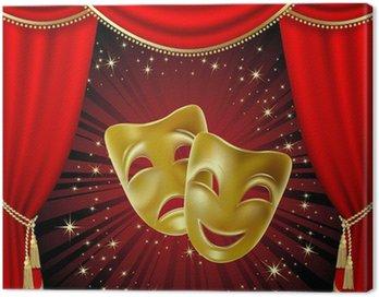 Obraz na Płótnie Maski teatralne