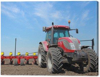 Obraz na Płótnie Maszyny rolnicze, siewu