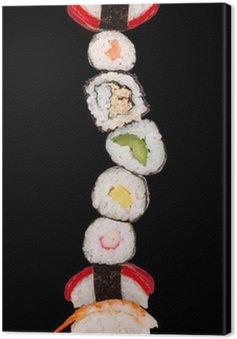 Obraz na Płótnie Maxi sushi, samodzielnie na białym tle