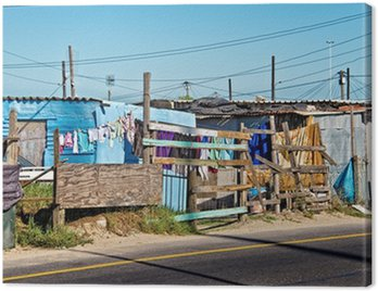 Obraz na Płótnie Miasteczko w pobliżu Cape Town, Republika Południowej Afryki