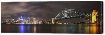 Obraz na Płótnie Miasto nocą (Sydney, Australia)
