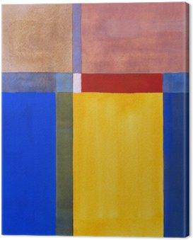 Obraz na Płótnie Minimalistyczny malarstwo abstrakcyjne