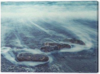 Obraz na Płótnie Minimalistyczny Samym. Coastal Sunrise.