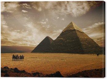 Obraz na Płótnie Mistyczne piramidy