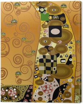 Obraz na Płótnie Modernes złoto