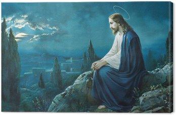 Obraz na Płótnie Modlitwa Jezusa w ogrodzie Getsemani.