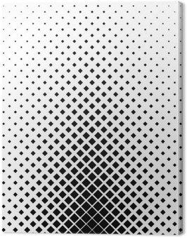 Obraz na Płótnie Monochromatyczny kwadrat wzór tła projektowania