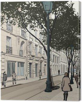 Obraz na Płótnie Montmartre w Paryżu
