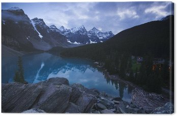 Obraz na Płótnie Moraine Lake, Alberta, Banff National Park