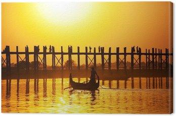 Obraz na Płótnie Most w Myanmar