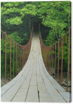 Obraz na Płótnie Most wiszący