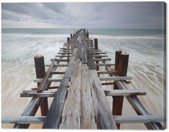 Most złożony morza