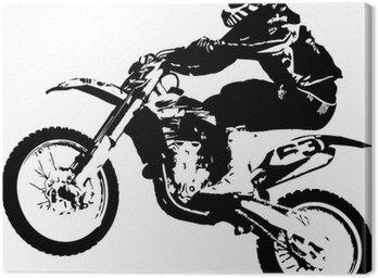 Obraz na Płótnie Motocross zworka
