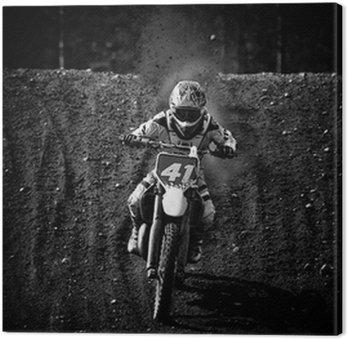 Obraz na Płótnie Motocross