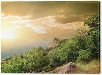 Obraz na Płótnie Mountain Ifigenia o świcie
