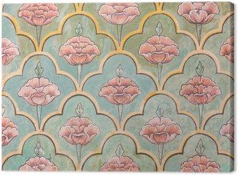 Obraz na Płótnie Mughal malowidła ścienne w Jaipur pałacu