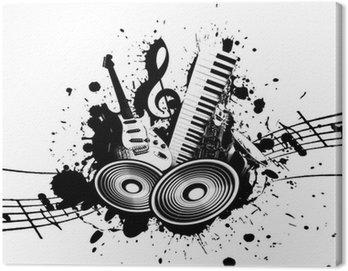 Obraz na Płótnie Muzyki grunge
