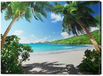 Obraz na Płótnie Na plaży, Mahe Island, Seszele