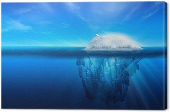 Obraz na Płótnie Natural lodowa z Polar Bear