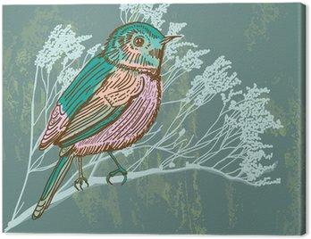 Obraz na Płótnie Naturalnego tła z ptaków