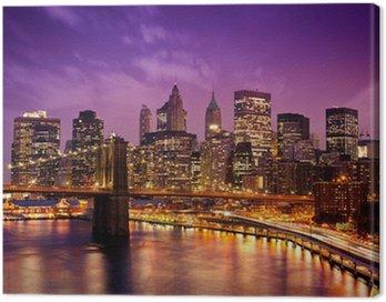 New York Manhattan Pont de Brooklyn
