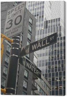Obraz na Płótnie New York Wall Street