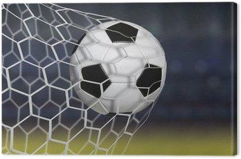 Obraz na Płótnie Niesamowita bramka do piłki nożnej
