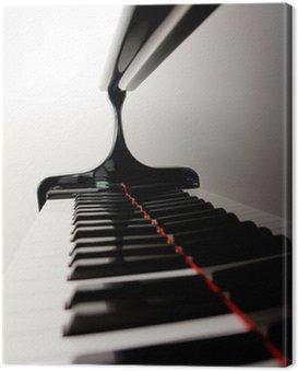 Obraz na Płótnie Niewyraźne Keys Piano