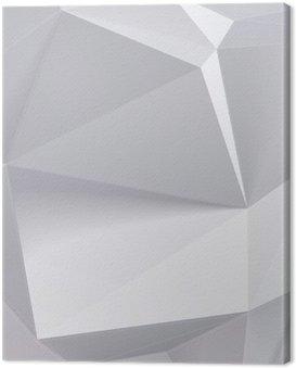 Obraz na Płótnie Niski kształt wielokąta geometrii. ilustracji wektorowych