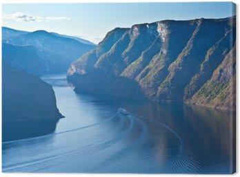 Obraz na Płótnie Norwegia - region Fjord