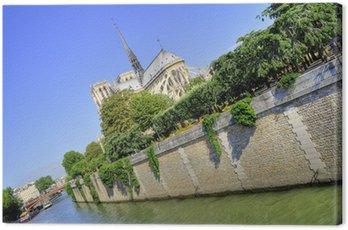 Obraz na Płótnie Notre Dame w Paryżu, Francja