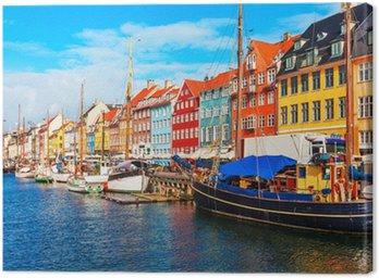 Obraz na Płótnie Nyhavn Kopenhaga Dania