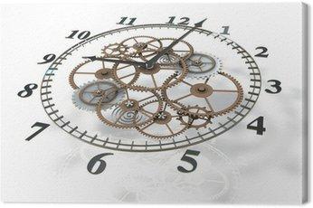 Obraz na Płótnie Obraz 3d zegar