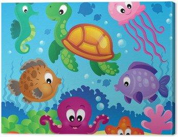 Obraz z podwodnego tematu 7