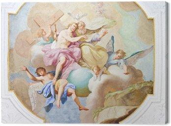Obraz na Płótnie Ochsenhausen fresco