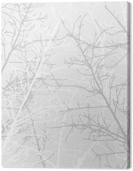 Obraz na Płótnie Oddziały wzór tekstury. Miękkie tło.