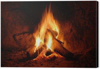 Obraz na Płótnie Ogień, ogień, płomienie,