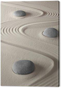 Obraz na Płótnie Ogród zen
