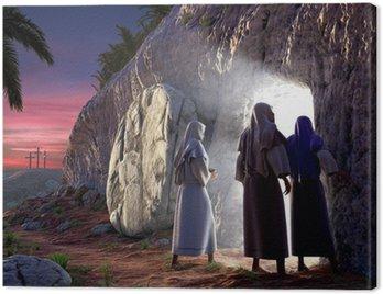 Obraz na Płótnie On zmartwychwstał