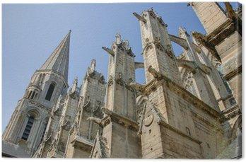 Obraz na Płótnie Opactwa i katedry Vendôme